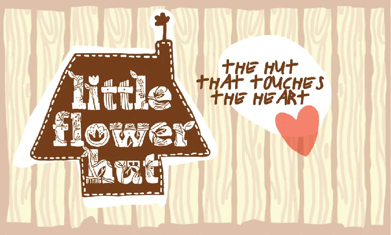 little flower hut logo